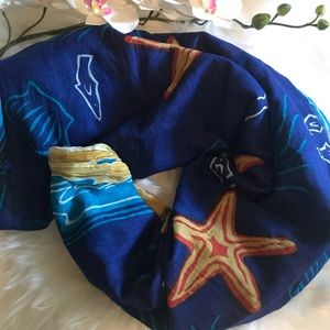 Sea scarf or wrap